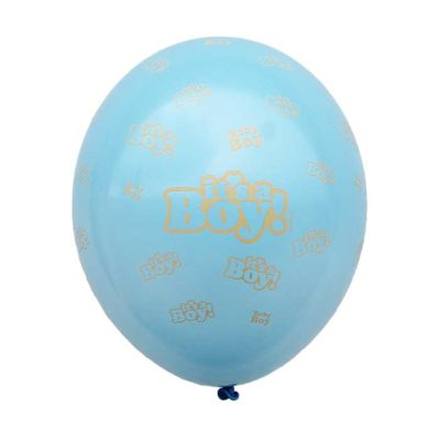 Blå its a boy ballon 30cm til babyshower - SB14P-271-011-min