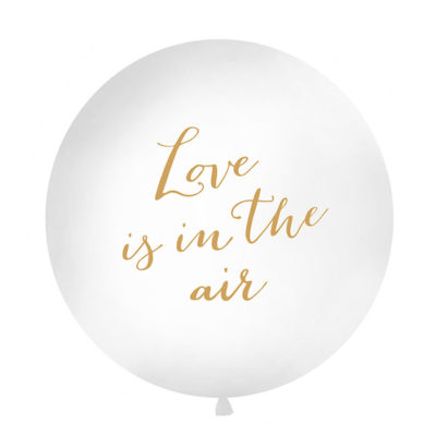 Love is in the air ballon