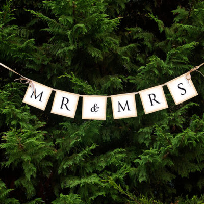 mr and mrs banner i vintage