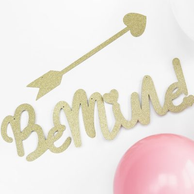Be mine banner